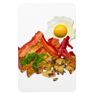 My Ketchup Gone Squatchin for Bacon Decor Rectangular Photo Magnet