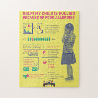 My Kid's Food Allergies - Infographic Puzzle