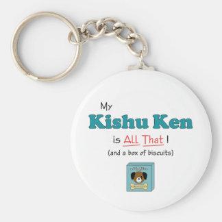 My Kishu Ken is All That! Keychain