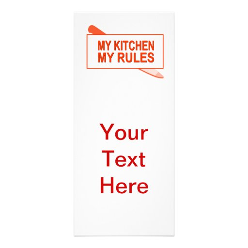 Kitchen Layout Rules: My Kitchen. My Rules. Fun Design For Kitchen Boss Rack