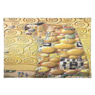 My Klimt Serie : Embrace Placemat