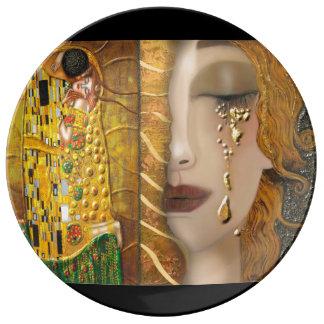 My Klimt Serie:Gold Plate