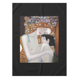 My Klimt Serie : Mother & Child Tablecloth