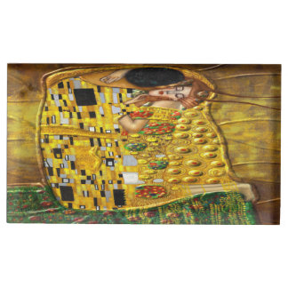 My Klimt Serie:The Kiss Table Number Holder