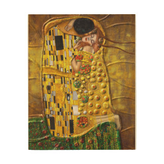 My Klimt Wood Canvases