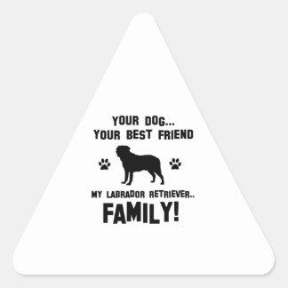 My labrador retriever family, your dog just a best stickers