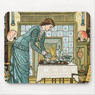 My Lady's Chamber, frontispiece to 'The House Beau Mouse Pad