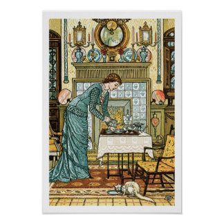 My Lady's Chamber, frontispiece to 'The House Beau Poster