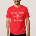 My Life Guard bible verse Matthew 14:22-32 T Shirts
