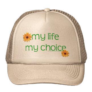 my life my choice hats