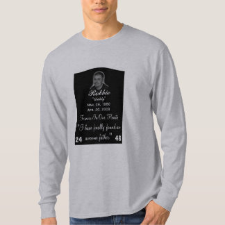 My life will never be the same,rip... - Customized T-Shirt