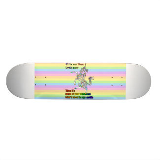 My Li'l Unicorn 18.1 Cm Old School Skateboard Deck