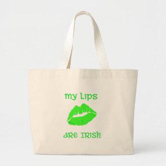 My Lips are Irish Bag