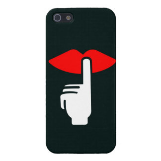 My Lips are Sealed iPhone 5 Cases
