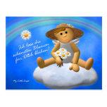 My Little Angel: Blumen Postkarte