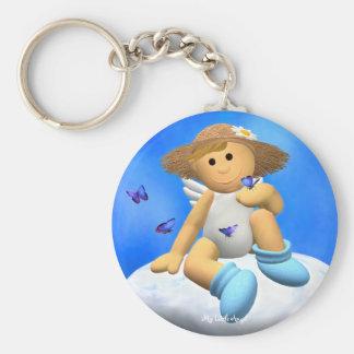My Little Angel: Butterfly Keychain