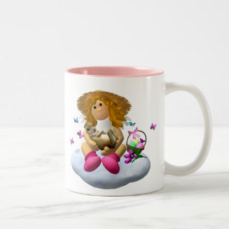 My Little Angel: Easter Time 1 Two-Tone Mug
