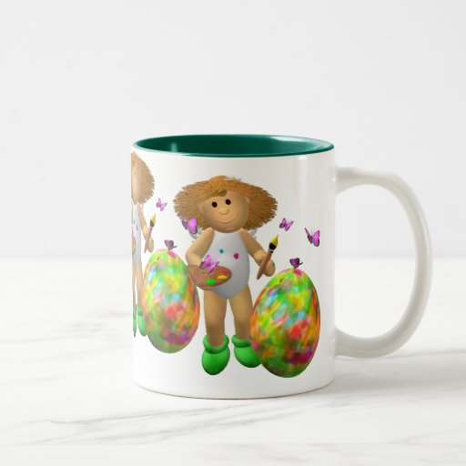 My Little Angel: Easter Time 5 Coffee Mugs