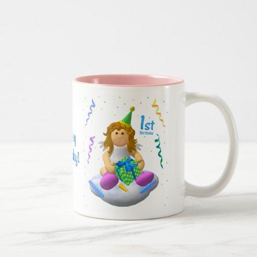 My Little Angel: First Birthday Coffee Mug