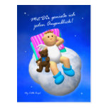 My Little Angel: Genießen Postkarte
