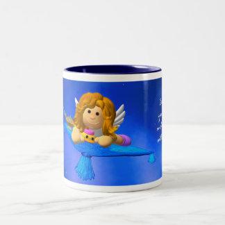 My Little Angel: Imagination Two-Tone Mug