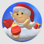 My Little Angel: Merry Christmas Round Stickers