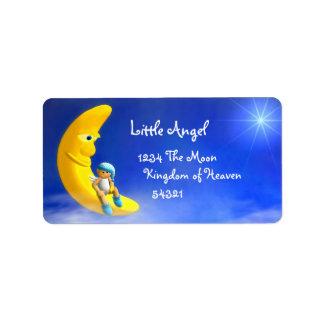 My Little Angel: Moon Labels