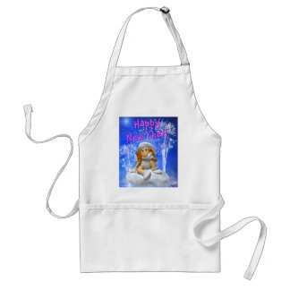 My Little Angel: New Year's Angel Adult Apron