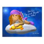 My Little Angel: Tag und Nacht Postkarten