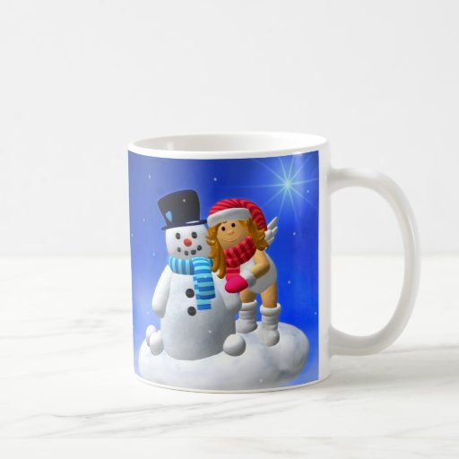 My Little Angel: Wintertime Mug