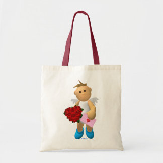 My Little Angel with Love Letter Budget Tote Bag