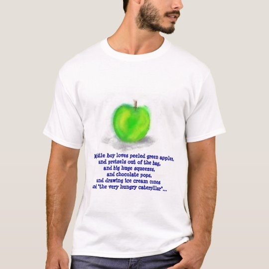 My little boy loves peeled green a... T-Shirt
