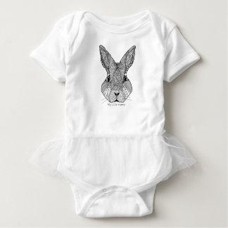 My Little Bunny Design Baby Bodysuit