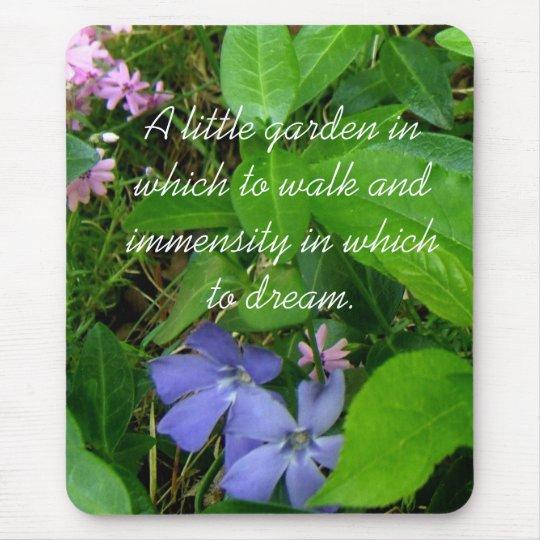 My little flower garden mousepad- customise mouse mat