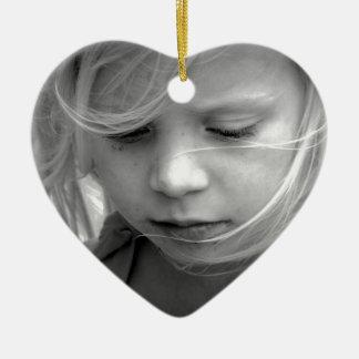 My Little Girl. Ceramic Heart Decoration