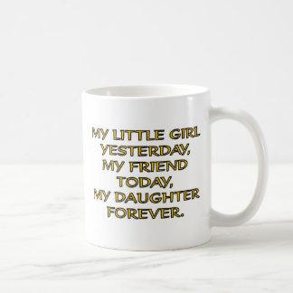 MY LITTLE GIRL COFFEE MUG