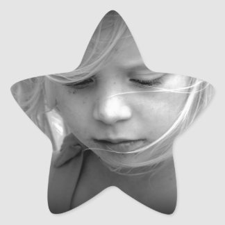 My Little Girl. Star Sticker