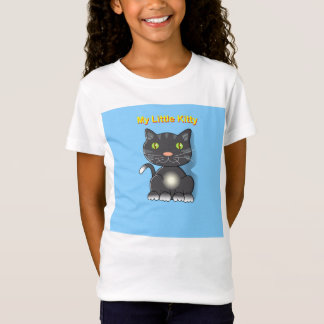 My Little Kitty black kitten. T-Shirt