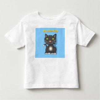 My Little Kitty black kitten. Toddler T-Shirt