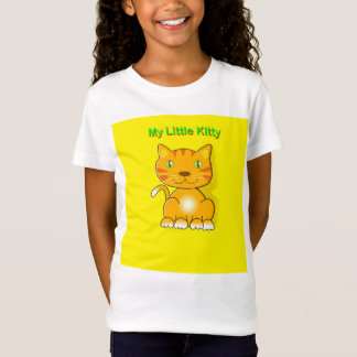 My Little Kitty ginger kitten. T-Shirt