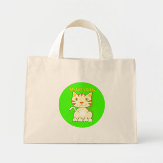 My Little Kitty, Ginger Kitty Mini Tote Bag
