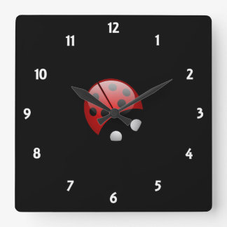 My Little Ladybug Wall Clock