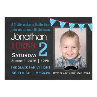 My Little Man Birthday Invitation