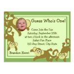 My Little Monkey/ Photo Post Cards