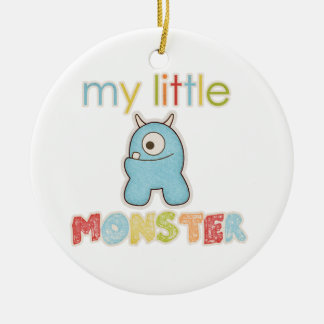 My Little Monster Christmas Ornament