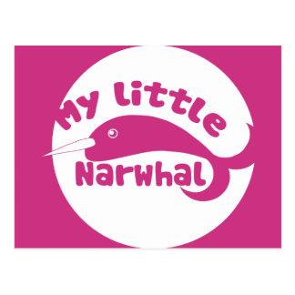 My Little Narwhal Post Cards