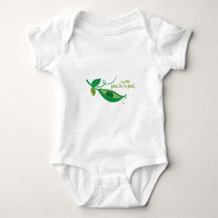 My Little Pea In A Pod Baby Bodysuit