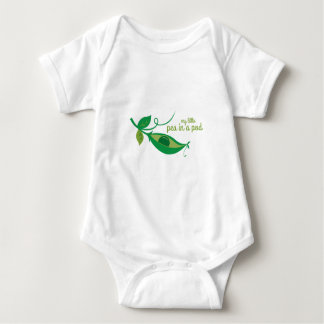 My Little Pea In A Pod Baby Bodysuit