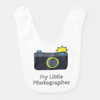 My Little Photographer Hand Drawn Bib