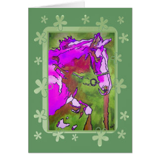 My Little Pony (Purple and Green) Card